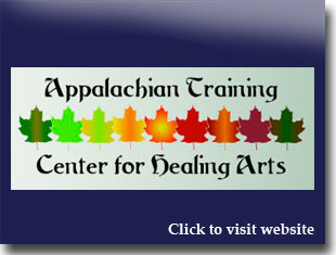 Link to website for Appalachian Training Center for the Healing Arts