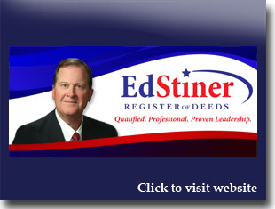 Link to website for Ed Stiner jefferson county register of deeds