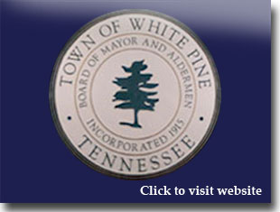 Link to website for city of White Pine TN